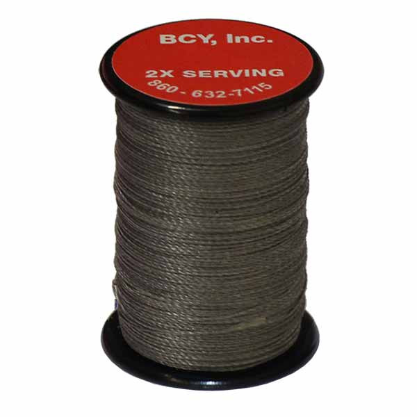 "BCY 2X End Serving .015"" (150 yds) Silver"