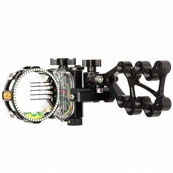 Trophy Ridge React Pro Bow Sight 5-Pin .019 Right Matte Black AS825R19