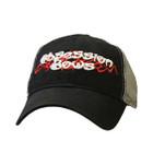 Obsession Black/Grey Mesh Hat