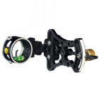 Trophy Ridge Pursuit Bow Sight 1 Pin .019 Green Left Hand Blk AS401L