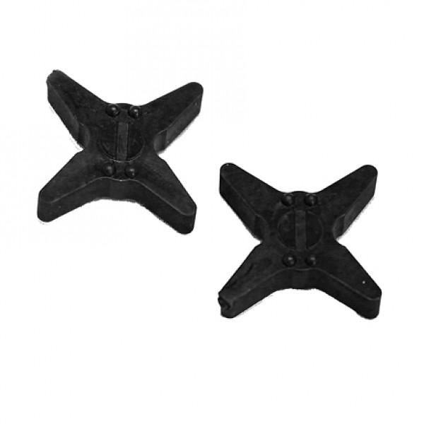 Bowjax Super Slip Jax Silencers Black 4 pk