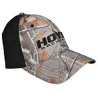 Hoyt Black and AP Camo Fitted Cap with Logo