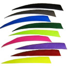 AMG Feathers 5 inch Shield RW 36pk