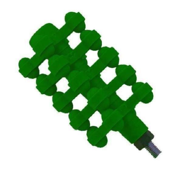 """BowJax X-It Stabilizer 4 3/8"""" Flo Green"""