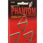 Muzzy MX Phantom 3 Pack Replacement Bleeder Broadhead Blades #3150