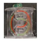 Saunders Pipper Fiber Optic Clip Sight  #2049