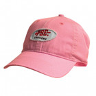 PSE Frayed Pink Patch Curved Bill Cap Women's Hat 41851