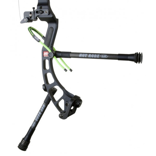 AAE Hot Rodz Western Hunter Stabilizer Black RH