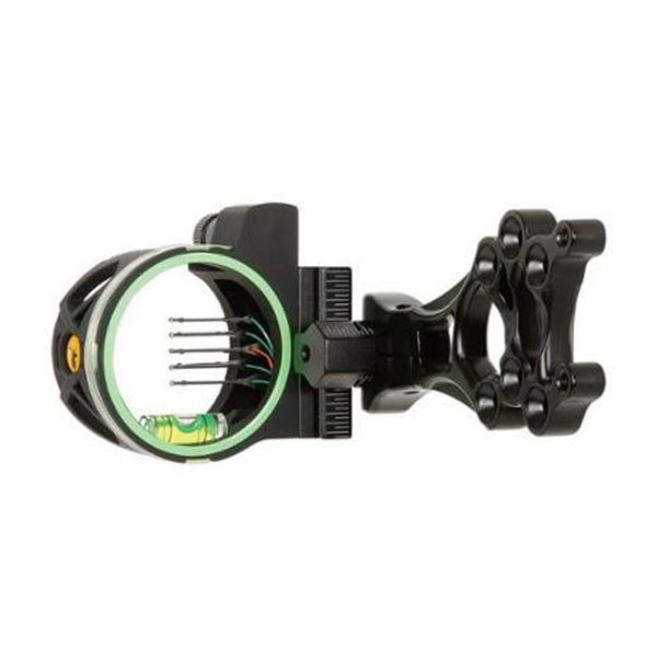 Trophy Ridge Volt 5 Pin Fiber Optic Bow Sight w/ Light! AS109 RH/LH