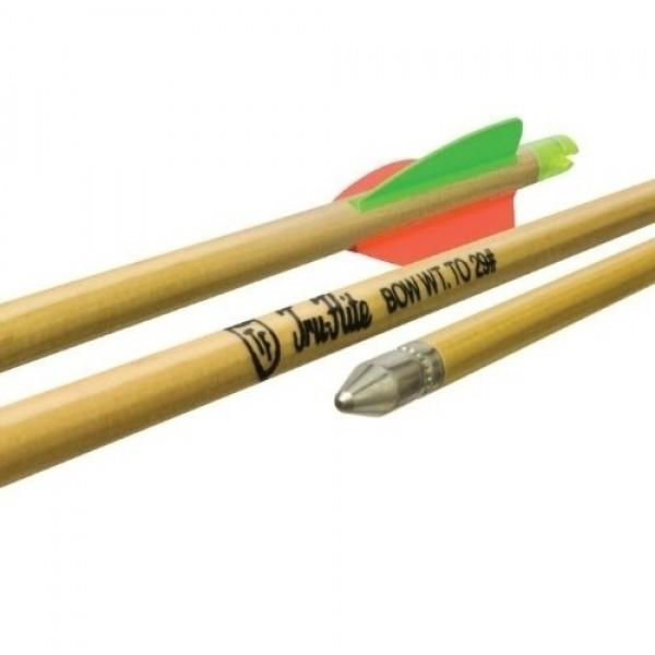 "Easton Archery 5/16 26"" Port Orford Cedar Youth Arrows w/3"" Vanes - 3 Pk #716818"