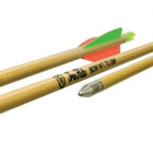"Easton Archery 5/16 26"" Port Orford Cedar Youth Arrows w/3"" Vanes - 3 Pk #716818"