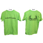 Bowhunters Supply Store Tee Lime/Black Medium