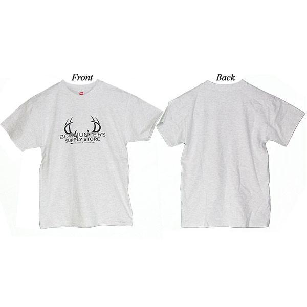 Bowhunters Supply Store Youth T-Shirt Light Steel Medium