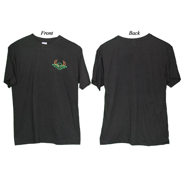 Bowhunters Supply Store Performance Quick-Dry Black Large