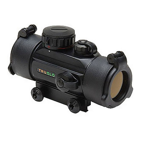 TruGlo Red-Dot 30MM Dual Color Red Green Retical Dot Sight - Black TG8030DB