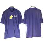 Bowhunters Supply Store Polo Royal Blue/White 2XL