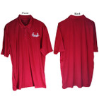 Bowhunters Supply Store Polo Red/White Medium