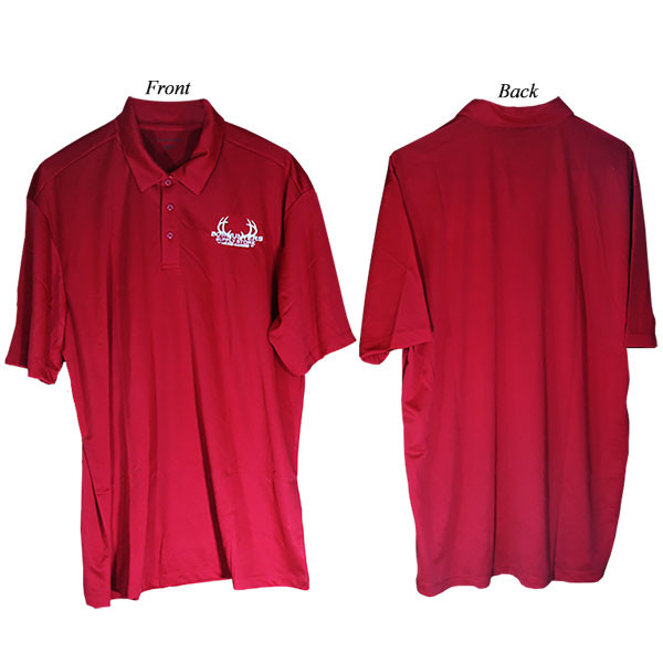 Bowhunters Supply Store Polo Red/White 3XL