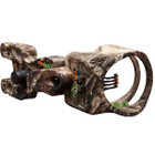 "TruGlo Carbon XS 4 Pin Bow Sight w/Light .019"" Lost AT"