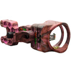TruGlo Carbon XS 4 Pin Bow Sight w/Light .019 Pink