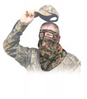 Primos Ninja Mesh Face Mask - 3/4 Mask - Mossy Oak New Break-Up