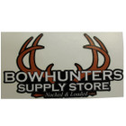 "Bowhunters Supply Store 4"" Orange Logo Decal"