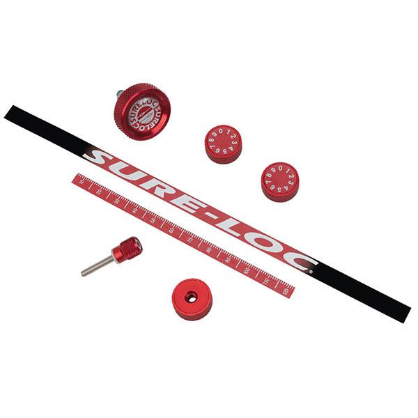 SureLoc Knob/Decal Kit Red