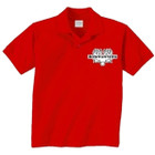 BSS Logo Polo Red   Medium