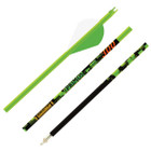 Gold Tip Team Primos - Green - 400 - 2in Raptor Vanes - 1/2dz