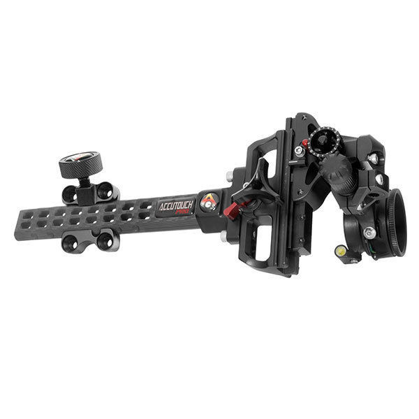 Axcel AccuTouch Carbon Pro Slider Sight w/ X-41 Scope .019 Blue Fiber