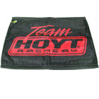 Hoyt Archery Shooter Towel Black/Red