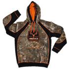 HOYT Camo and Orange Outfitter Hoody Medium