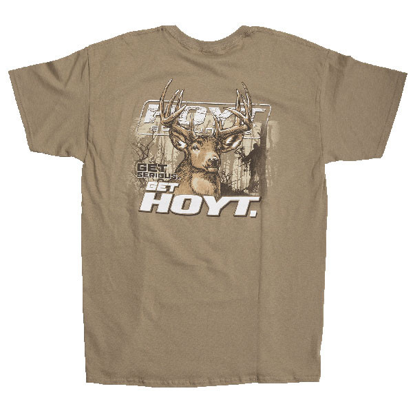 Hoyt Deep Woods Whitetail Short Sleeve Tee Size Medium