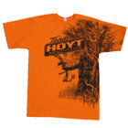 HOYT TAKE-A-STAND SHORT SLEEVE TEE ORANGE SIZE MEDIUM