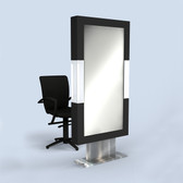 9199 Domino Mirror Double Styling Station