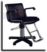 Belvedere S91S Scroll All Purpose Chair with Chrome Base