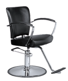 Savvy SAV-035T-CR-B Kathleen Styling Chair