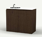 9208 Spa Cabinet w/ Sink in Cocoa