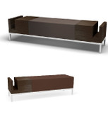 7069 Mark Reception Bench