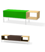 7065 Mark Reception Bench