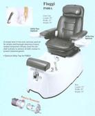 Pibbs PS80A Fiuggi Pedi Spa w/Massage
