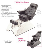 Pibbs PS84A San Remo Turbo Jet Pedi Spa w/Massage and Recline
