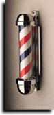 Marvy 333 Barber Pole Non-Revolving Wall Mount