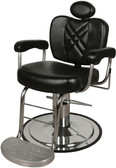 Collins 8070 Metro Barber Chair with Logo Footrest