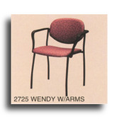 Pibbs 2725 Wendy Reception Chair with Armrests