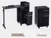 Pibbs 2009BL Folding Manicure Station in Black