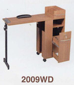 Pibbs 2009WD Folding Manicure Station in Wood