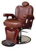 Collins 9070 Commander II Leather Barber Chair