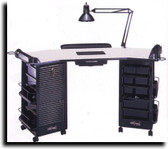 Kayline G602 Hollywood Nail Care Center Double Cabinets