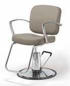 Pibbs 3706 Pisa Styling Chair with Round Base